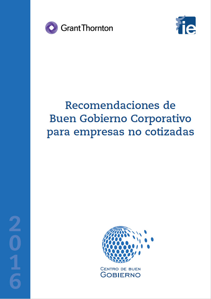 2015 Recomendaciones de Buen Gobierno Corporativo para empresas no cotizadas